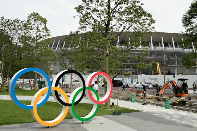 Thousands of fans will be travelling to the new National Stadium during the Tokyo 2020 Olympics. (Credit: Getty Images)