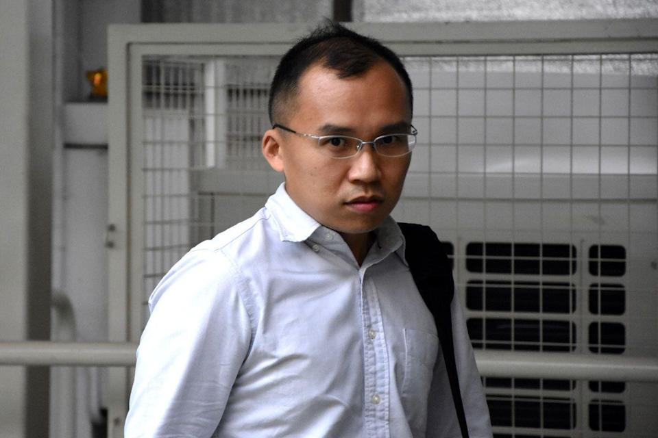 Lieutenant Kenneth Chong Chee Boon (Yahoo News Singapore file photo)