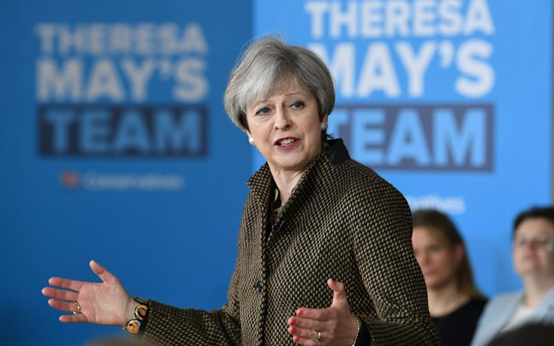 Theresa May will appear with her rivals on the BBC during the debates - PA