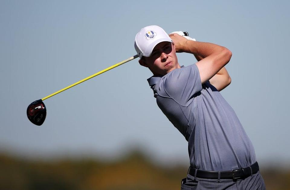 Matt Fitzpatrick will make his second Ryder Cup appearance at Whistling Straits (Peter Byrne/PA) (PA Archive)