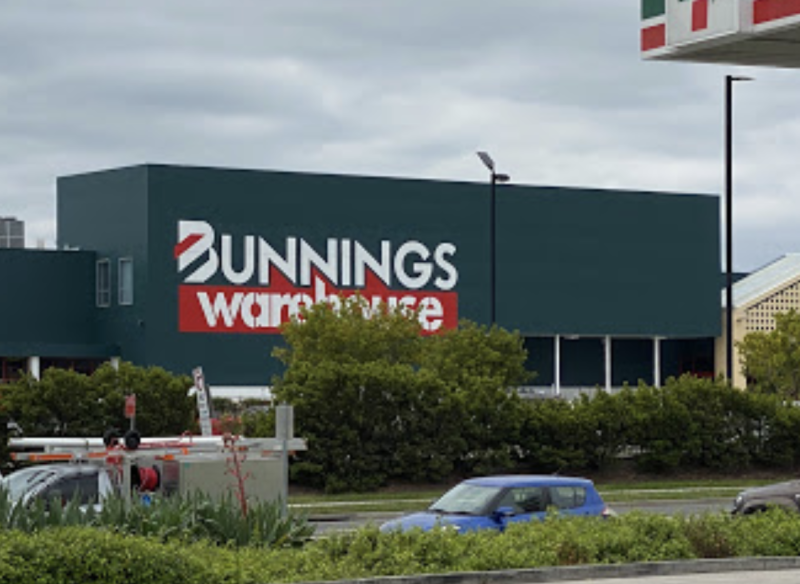 Photo shows Bunnings in Gregory Hills.