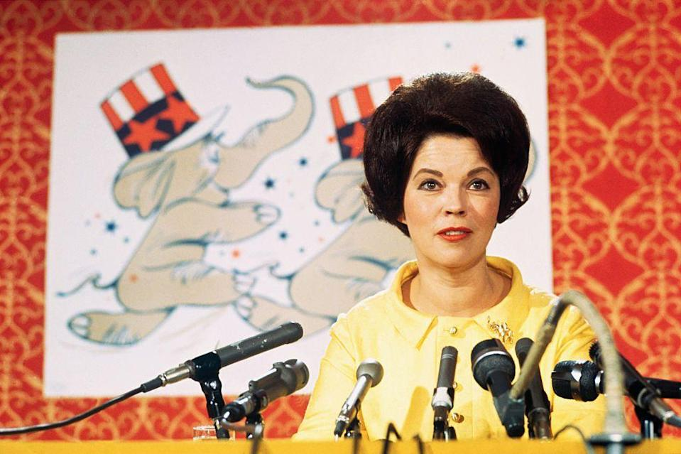 <p>At the annual Republican Women's Conference, Shirley Temple Black explains why she is not running again following her previous defeat. </p>