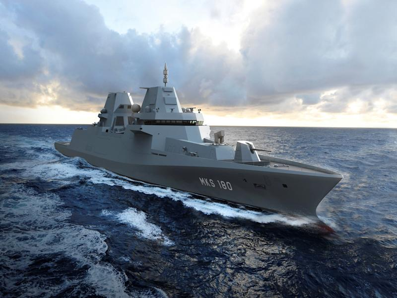Germany's $6.7 billion frigate deal with Dutch shipbuilder Damen may be the last of its kind