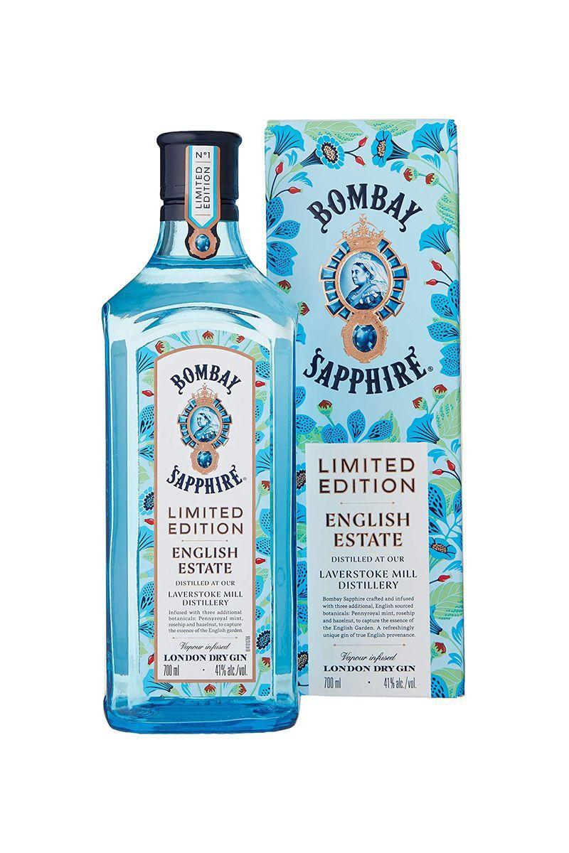 """<p>With botanicals sourced from the English countryside, we suggest serving this gin with some lemon juice, tonic or ginger ale and mint for a fresh flavour.</p><p>Bombay Sapphire - £19.95 (70cl)</p><p><a class=""""link rapid-noclick-resp"""" href=""""https://www.amazon.co.uk/Bombay-Sapphire-English-Estate-Limited/dp/B07PPWMSX1/ref=sr_1_7?dchild=1&keywords=gin&qid=1587382837&s=grocery&sr=1-7&tag=hearstuk-yahoo-21&ascsubtag=%5Bartid%7C1921.g.31768%5Bsrc%7Cyahoo-uk"""" rel=""""nofollow noopener"""" target=""""_blank"""" data-ylk=""""slk:SHOP NOW"""">SHOP NOW</a></p>"""