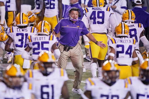 Hurricane forces move of LSU-Missouri game out of Louisiana