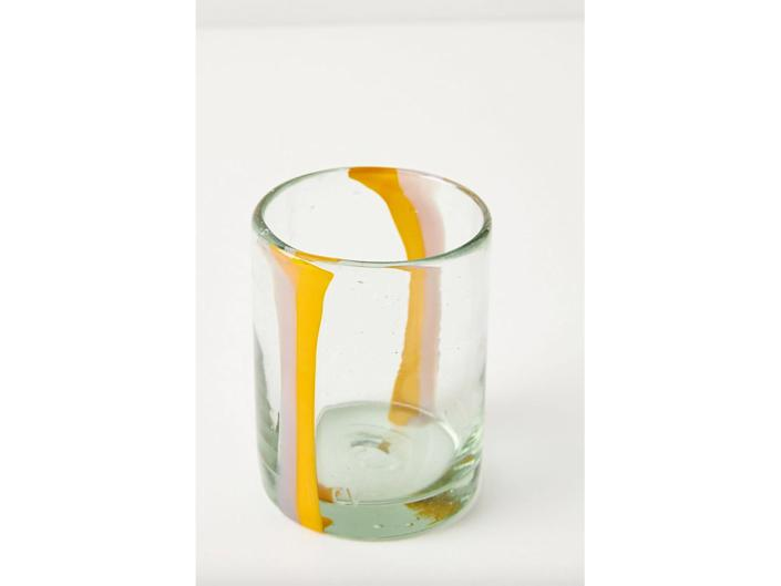 Inspired by Picasso, this is a fine piece of glassware that's perfect for special occasionsAnthropologie