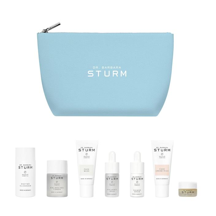 """<br><br><strong>Dr. Barbara Sturm</strong> The Winter Kit, $, available at <a href=""""https://go.skimresources.com/?id=30283X879131&url=https%3A%2F%2Fbluemercury.com%2Fcollections%2Fgift-set%2Fproducts%2Fdr-barbara-sturm-the-winter-kit"""" rel=""""nofollow noopener"""" target=""""_blank"""" data-ylk=""""slk:Bluemercury"""" class=""""link rapid-noclick-resp"""">Bluemercury</a>"""