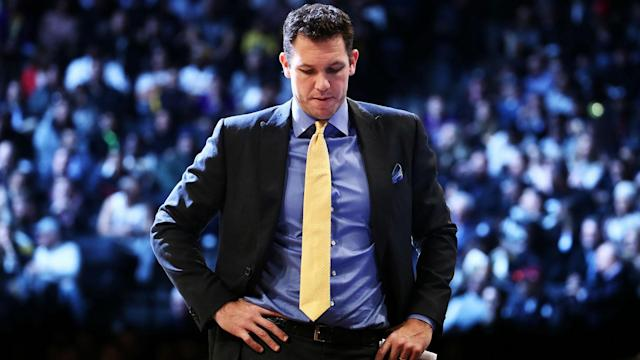 The Los Angeles Lakers are out of the playoff picture but Luke Walton is preparing to return in 2019-20.