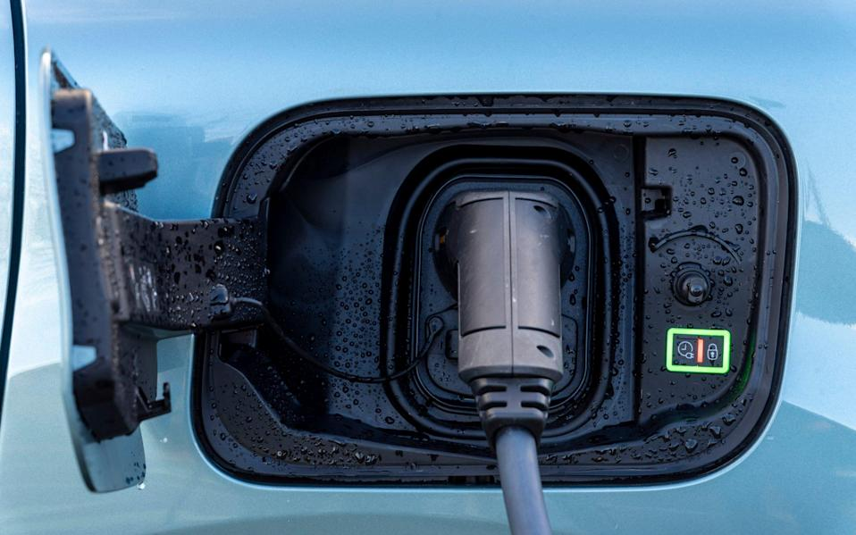 electric car - Andrew Crowley
