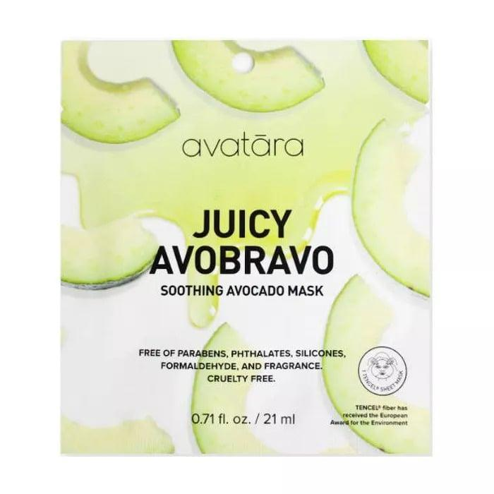 <p>If you have irritated skin, the <span>Avatara Avobravo Soothing Mask</span> ($3) will help you nourish and calm the skin.</p>