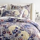 """<p>Looking for some fierce new bedding? You're in luck! Two of our favorite brands just launched an exclusive bedding and pillow design collection together and it's filled with some wild prints. Enter the <a href=""""https://go.redirectingat.com?id=74968X1596630&url=https%3A%2F%2Fwww.williams-sonoma.com%2Fshop%2Fhome-pillows-throws%2Fscalamandre-collection-shop%2F&sref=https%3A%2F%2Fwww.housebeautiful.com%2Fshopping%2Fhome-accessories%2Fg34162247%2Fwilliams-sonoma-scalamandre-bedding-collection%2F"""" rel=""""nofollow noopener"""" target=""""_blank"""" data-ylk=""""slk:Williams Sonoma Home x The House of Scalamandré collection"""" class=""""link rapid-noclick-resp"""">Williams Sonoma Home x The House of Scalamandré collection</a>.</p><p>This new stock features some of the most iconic prints from the almost century old-textile purveyor. Between the Leaping Cheetah, Siberian Tiger, Zebras, and Bahar, shoppers can enjoy Williams Sonoma luxury bedding with a fun eye catching design.</p><p>The line comprises over 25 new products in all different sizes, ranging from $79.00 to $399.99. Plus if you buy right now, you can receive up to 30% off your order as well as free shipping. We included our favorites from the collection below—or you can shop the entire collection <a href=""""https://www.williams-sonoma.com/shop/home-pillows-throws/scalamandre-collection-shop/"""" rel=""""nofollow noopener"""" target=""""_blank"""" data-ylk=""""slk:here"""" class=""""link rapid-noclick-resp"""">here</a>.</p>"""