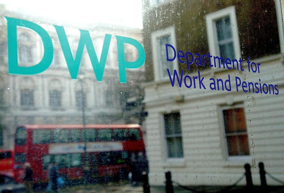 The Department for Work and Pensions (Kirsty Wigglesworth/PA) (PA Archive)