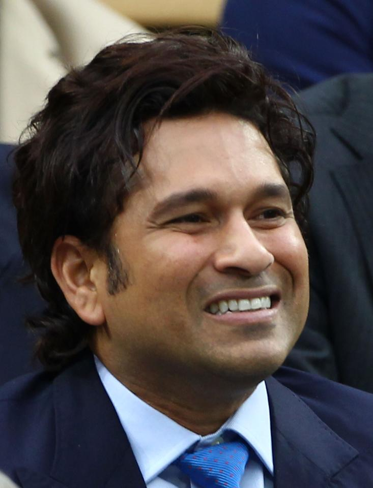 LONDON, ENGLAND - JULY 06:  Sachin Tendulkar watches on from the Royal Box on Centre Court on day eleven of the Wimbledon Lawn Tennis Championships at the All England Lawn Tennis and Croquet Club on July 6, 2012 in London, England.  (Photo by Clive Brunskill/Getty Images)
