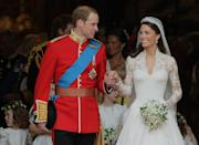 <p>The two tied the knot on April 29, 2011, and Kate officially became the Duchess of Cambridge. With that came new responsibilities, as Kate became a full-time working royal upon her marriage.</p>