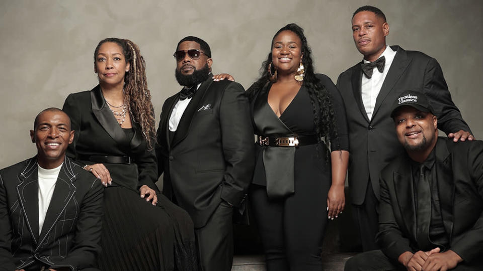 From left: Damien Smith, Caron Veazey, Willie 'Prophet' Stiggers, Ashaunna Ayars, Shawn Holiday, Jamil Davis - Credit: Will Sterling