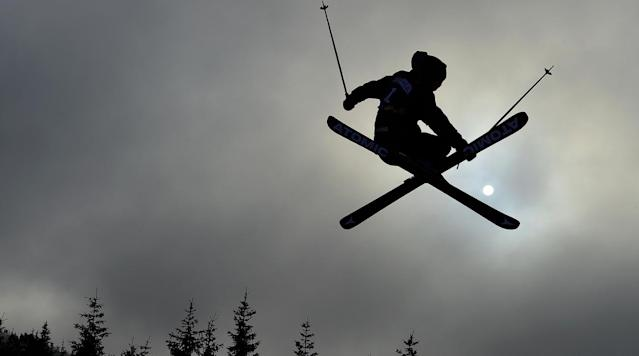 <p>Jackson Wells of New Zealand is seen in action during the training run of the Freestyle Skiing Ski Slopestyle Finals at Hafjell Freepark during the Winter Youth Olympic Games in Lillehammer, Norway.</p>