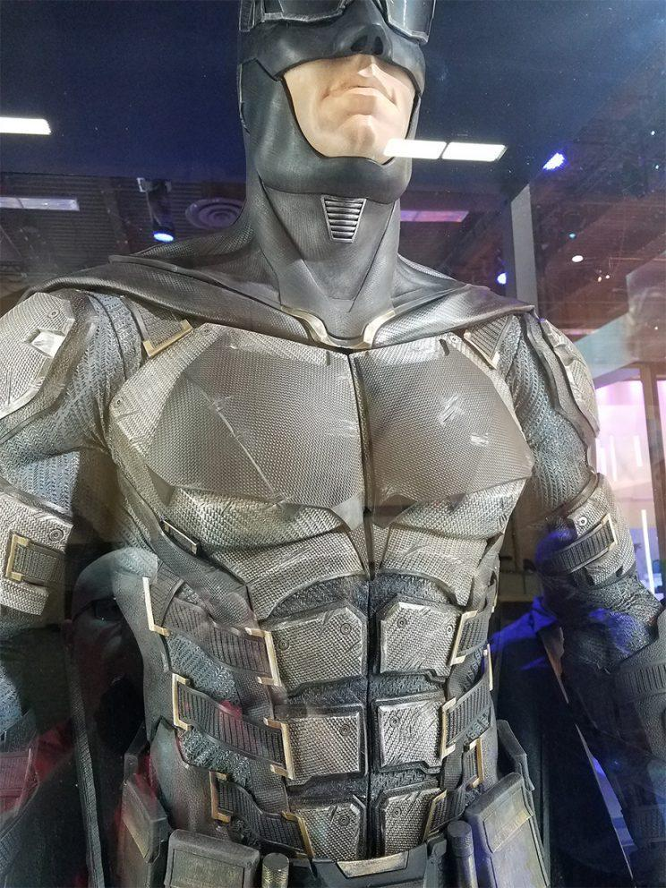 A closer look at the Bat-chest - Credit: Collider
