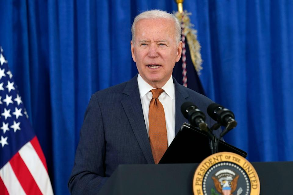 <p>Biden may be a more sympathetic president, but threats to the NHS and British food and farming standards remain</p> (AP)