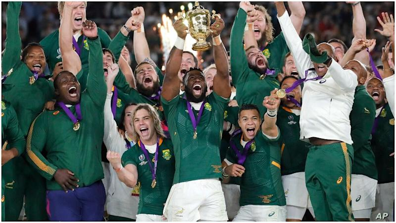 World Champions South Africa Pull Out of 2020 Rugby Championship Citing COVID-19 Complications
