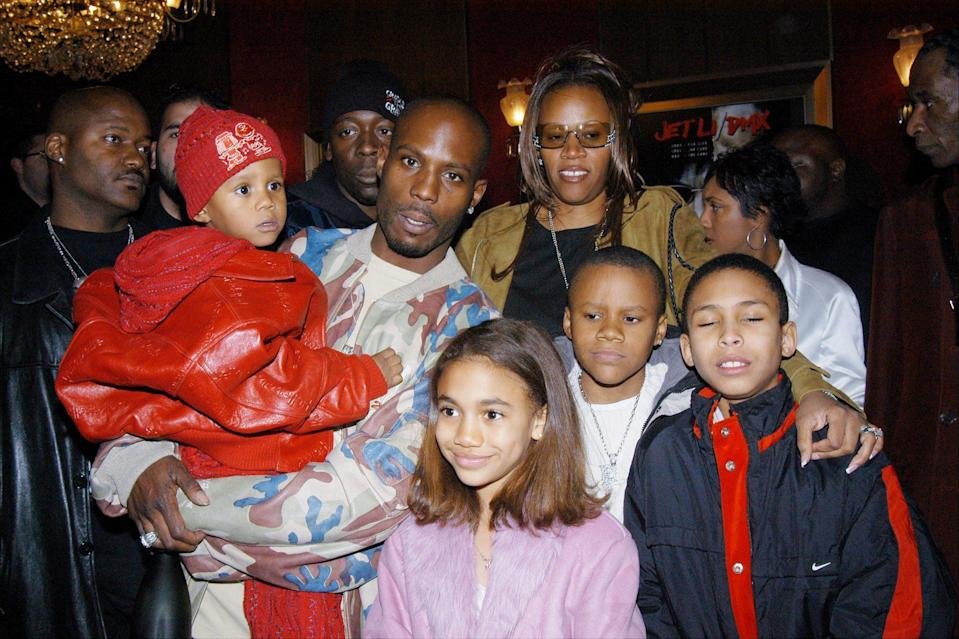 <p>The rapper and Tashera had four children together, and he fathered 11 more children through the years, most recently welcoming Exodus with fiancée Desiree Lindstrom in August of 2016.</p>