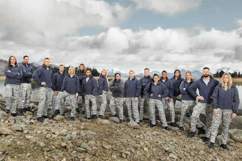 A group of 17 Aussie celebs are set to take on one of the toughest tests of their lives on SAS Australia 2020. Photo: Channel 7 (supplied).