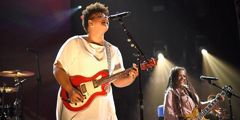 Brittany Howard Performs Sister Rosetta Tharpe Tribute at Rock Hall Induction: Watch