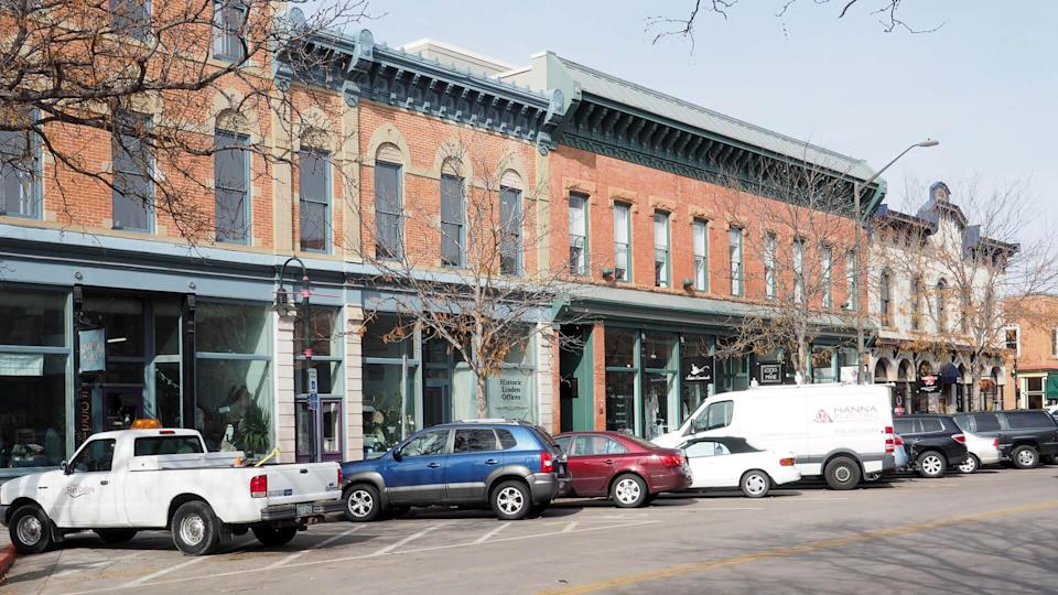 Fort Collins Colorado downtown