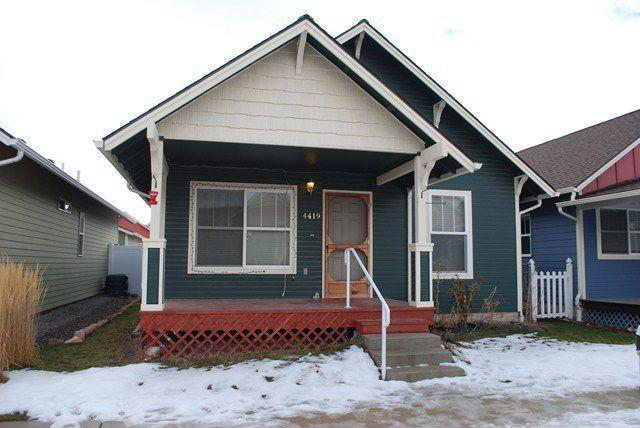 Missoula, MT 4419 Addington Dr, Missoula, MT For sale: $145,000   With 2 bedrooms and a quaint dining area, this Missoula home is a perfect place for first-time home buyers to get cozy. The home also provides convenience for commuters with easy Interstate access.