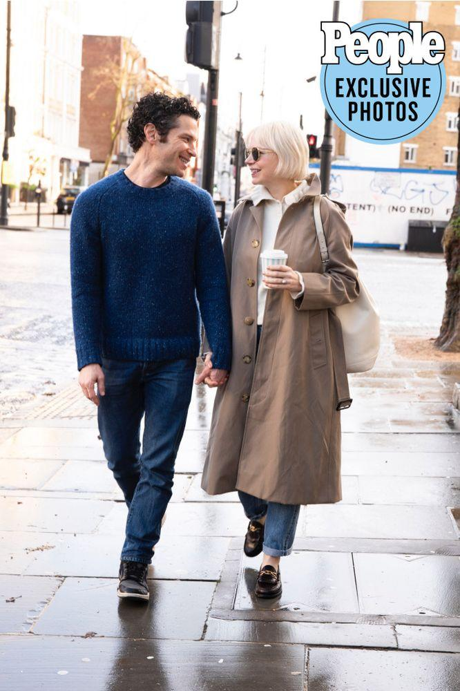 Thomas Kail, Michelle Williams | Pip Hurley