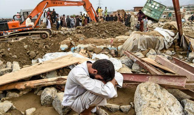 Afghanistan and Pakistan floods: At least 160 dead and hundreds of homes destroyed amid heavy rainfall