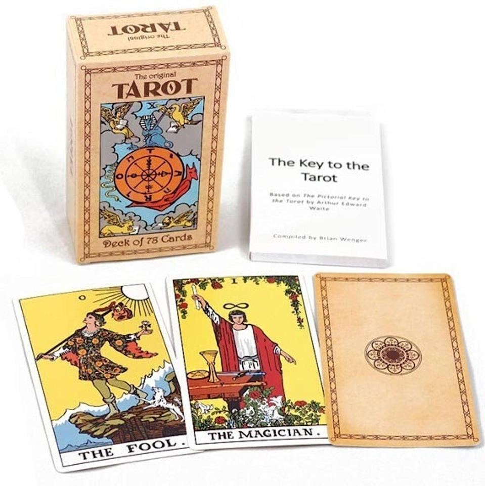 "<h2>The Original Rider-Waite Tarot Set</h2><br>""In my opinion, this is the only deck you really need,"" says <a href=""https://www.instagram.com/opal_sea/"" rel=""nofollow noopener"" target=""_blank"" data-ylk=""slk:Roya Backlund"" class=""link rapid-noclick-resp"">Roya Backlund</a>, love and career horoscope writer for <a href=""http://Astrology.com"" rel=""nofollow noopener"" target=""_blank"" data-ylk=""slk:Astrology.com"" class=""link rapid-noclick-resp"">Astrology.com</a>, tells Refinery29. ""Each card is brimming with so much symbolism that you could spend hours analyzing and interpreting one card alone,"" she explains. It's a traditional <a href=""https://www.refinery29.com/en-gb/tarot-cards-for-sale"" rel=""nofollow noopener"" target=""_blank"" data-ylk=""slk:tarot deck"" class=""link rapid-noclick-resp"">tarot deck</a>, and widely known among tarot fans.<br><br><strong>Dabrigh</strong> The Original Tarot Deck, $, available at <a href=""https://go.skimresources.com/?id=30283X879131&url=https%3A%2F%2Fwww.etsy.com%2Flisting%2F896930955%2Fthe-original-tarot-deck"" rel=""nofollow noopener"" target=""_blank"" data-ylk=""slk:Etsy"" class=""link rapid-noclick-resp"">Etsy</a>"