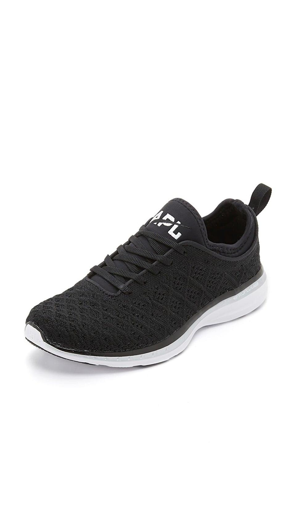 <p>They're looking for versatility, and these <span>APL Techloom Phantom Sneakers</span> ($165) can easily be worn to the gym or with a more fashion-forward look.</p>