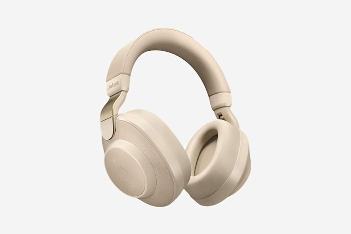 """<p>Jabra made a name for itself in the earphone market with its <a href=""""https://www.cntraveler.com/gallery/best-wireless-earbuds?mbid=synd_yahoo_rss"""" rel=""""nofollow noopener"""" target=""""_blank"""" data-ylk=""""slk:Elite 65T wireless earbuds"""" class=""""link rapid-noclick-resp"""">Elite 65T wireless earbuds</a>, and it entered the noise-canceling arena with the Elite 85H on-ear headphones in 2019. They have a Smart Active Noise Cancellation (ANC) technology that responds to your environment—if it detects too much background noise, the ANC will switch on. I tested these both in our office and on a plane, and while I couldn't hear my co-workers' desk-side conversations at work, let's just say I had a hard time blocking out the sound of my seatmate shelling pistachios on a flight to Utah. Other than that, they are a comfortable, minimalist-looking headphones that come in a sleek leather carrying case with both an Aux and a USB-C cable, and travel adapter. —<em>E.N.</em></p> <p><strong>Battery life:</strong> 36 hours</p> <p><strong>Hits:</strong> Comfortable headband and great sound quality</p> <p><strong>Misses:</strong> They're on the heavier side, and are better suited for an office environment than a plane</p> <p><strong>Buy now:</strong> <a href=""""https://amzn.to/2VyP3ts"""" rel=""""nofollow noopener"""" target=""""_blank"""" data-ylk=""""slk:$250, amazon.com"""" class=""""link rapid-noclick-resp"""">$250, amazon.com</a></p>"""