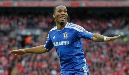 Drogba said he had signed a two and a half year contract with Shenhua