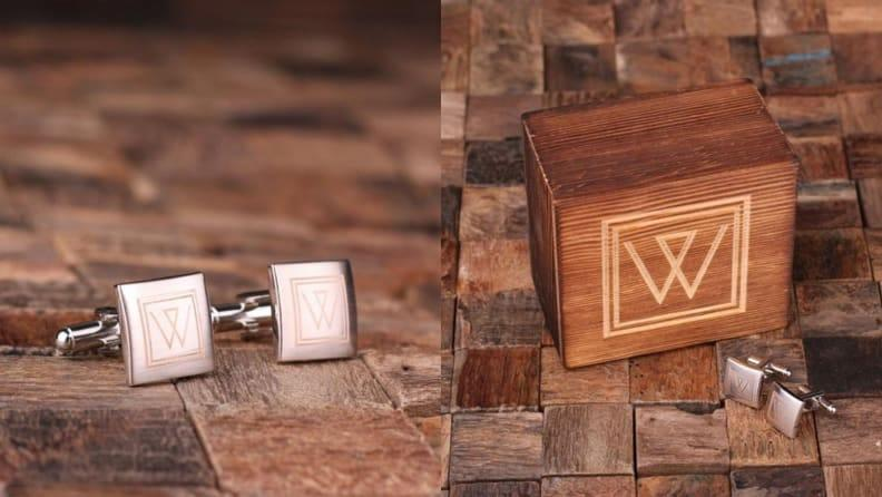 Best Father's Day Gifts: Personalized Cufflinks