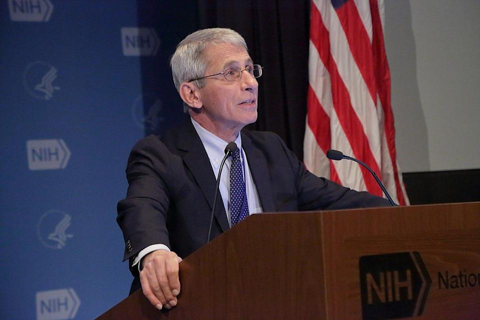 Anthony S Fauci, MD, Director, National Institute of Allergy and Infectious Diseases (NIAID).