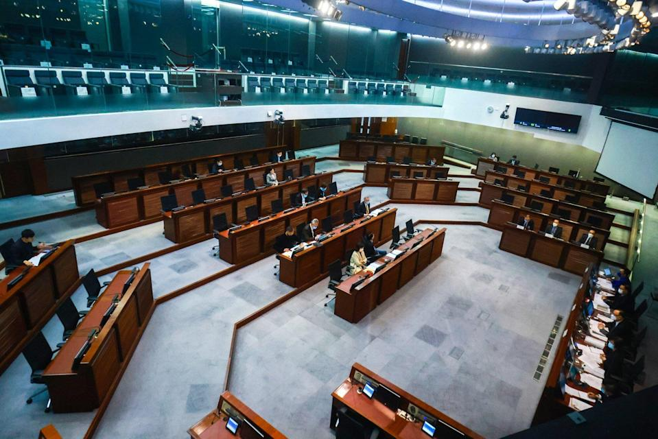 Power to effect change in Hong Kong's electoral system is now out of the hands of lawmakers at the Legislative Council. Photo: May Tse