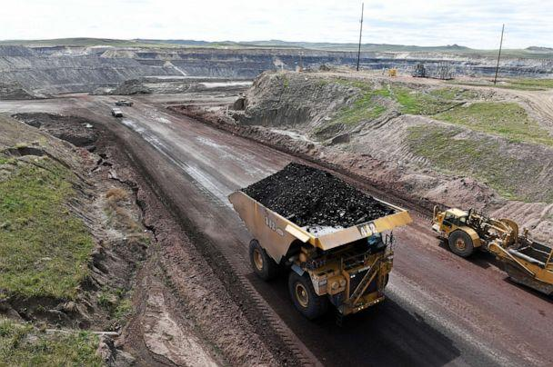 PHOTO: A truck loaded with coal at the Eagle Butte Coal Mine, May 8, 2017 in Gillette, WY. (The Washington Post/Getty Images, FILE)