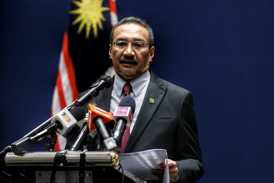 Foreign Minister Datuk Seri Hishammuddin Hussein called the military actions 'disproportionate and excessive'. ― Picture by Ahmad Zamzahuri