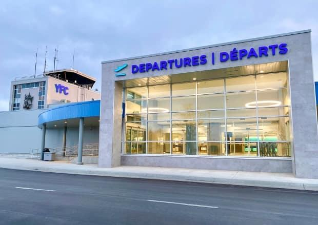 The Fredericton International Airport Authority is getting $3.8 million from Ottawa to help it cover expenses in light of losses incurred because of the COVID-19 pandemic. (Submitted by Fredericton International Airport - image credit)