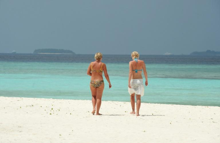 The Maldives, usually a tourist paradise, has been left deserted of holidaymakers by the virus outbreak