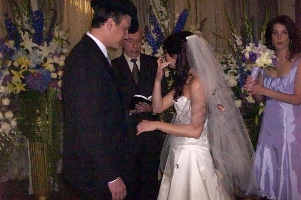 "Lily tears up during vows on <a href=""/how-i-met-your-mother/show/38167"">How I Met Your Mother</a>"