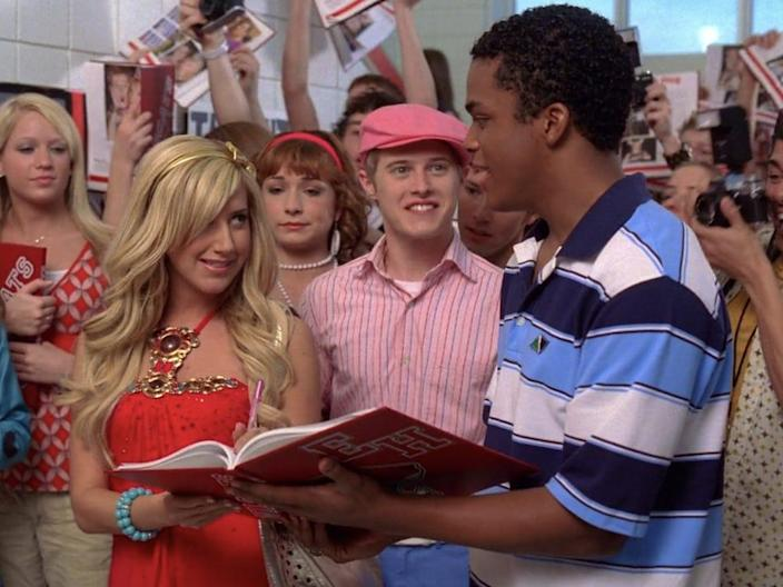 hsm 2 what time is it sharpay ryan zeke