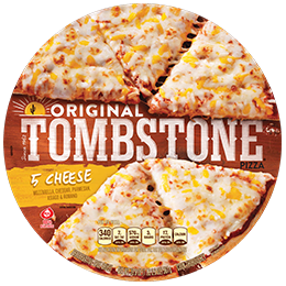 """<p>Like most other cheese-only pizzas this one isn't exactly a star. As one taster put it, """"the cheese was tasty, but the rest is meh.""""</p><p><strong><a class=""""link rapid-noclick-resp"""" href=""""https://go.redirectingat.com?id=74968X1596630&url=https%3A%2F%2Fgrocery.walmart.com%2Fip%2FTOMBSTONE-ORIGINAL-5-Cheese-Frozen-Pizza-19-3-oz-Pack%2F825517367&sref=https%3A%2F%2Fwww.redbookmag.com%2Ffood-recipes%2Fg35422312%2Ffrozen-pizzas-ranked%2F"""" rel=""""nofollow noopener"""" target=""""_blank"""" data-ylk=""""slk:BUY NOW"""">BUY NOW</a></strong><em><strong> $3, Tombstone Original 5 Cheese Pizza, walmart.com</strong></em><br></p>"""