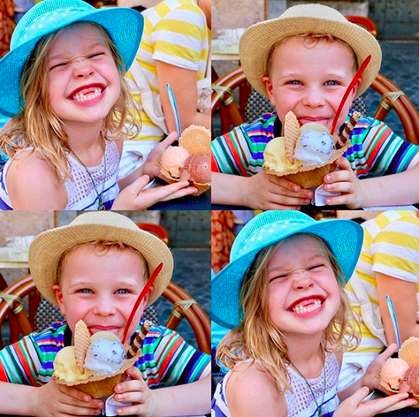 "<p>""Gelato for the win,"" NPH exclaimed of these shots of his twins, Harper and Gideon, 6, as they indulged in the best that Rome has to offer. (Photo: <a href=""https://www.instagram.com/p/BXRSdMfhfQp/?taken-by=nph"" rel=""nofollow noopener"" target=""_blank"" data-ylk=""slk:Neil Patrick Harris via Instagram"" class=""link rapid-noclick-resp"">Neil Patrick Harris via Instagram</a>)<br><br></p>"