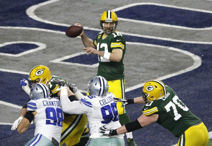 Aaron Rodgers Threw For More Than 300 Yards In A Playoff Game At Dallas