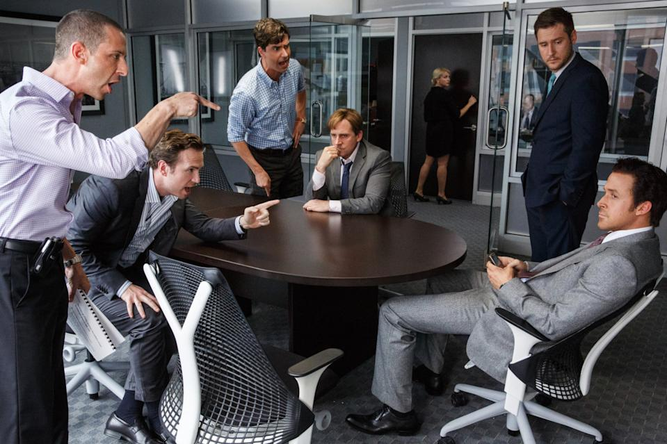 <p>Laugh about the financial crisis? Go on then. And it'll make you enormously angry too. Adam McKay's drama exposed the men who predicted and profited from the global credit crunch with help from a stellar - and bewigged - cast including Brad Pitt, Ryan Gosling, and Christian Bale. </p>