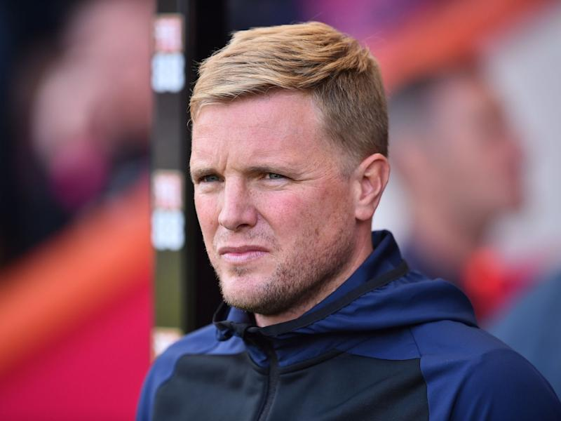 Bournemouth manager Eddie Howe: AFP