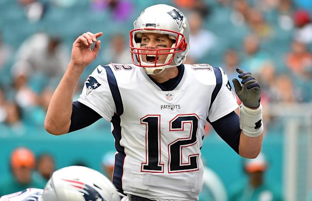 Tom Brady and the New England Patriots can wrap up a 10th straight division title with a win at Pittsburgh
