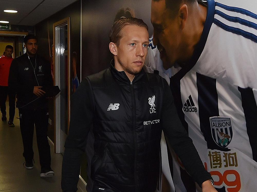 Lucas doesn't know whether he'll be at Liverpool next season: Getty